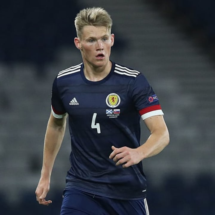 Scott McTominay sometimes plays as a centre-back for Scotland