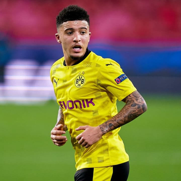 Man Utd are still in touch with Sancho's representatives