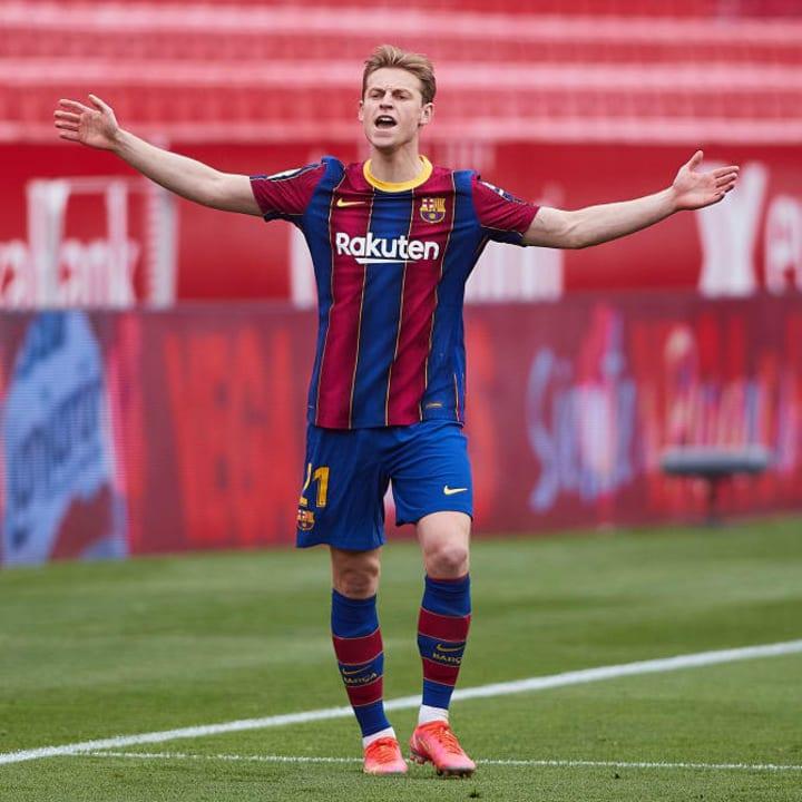 De Jong was key against Sevilla
