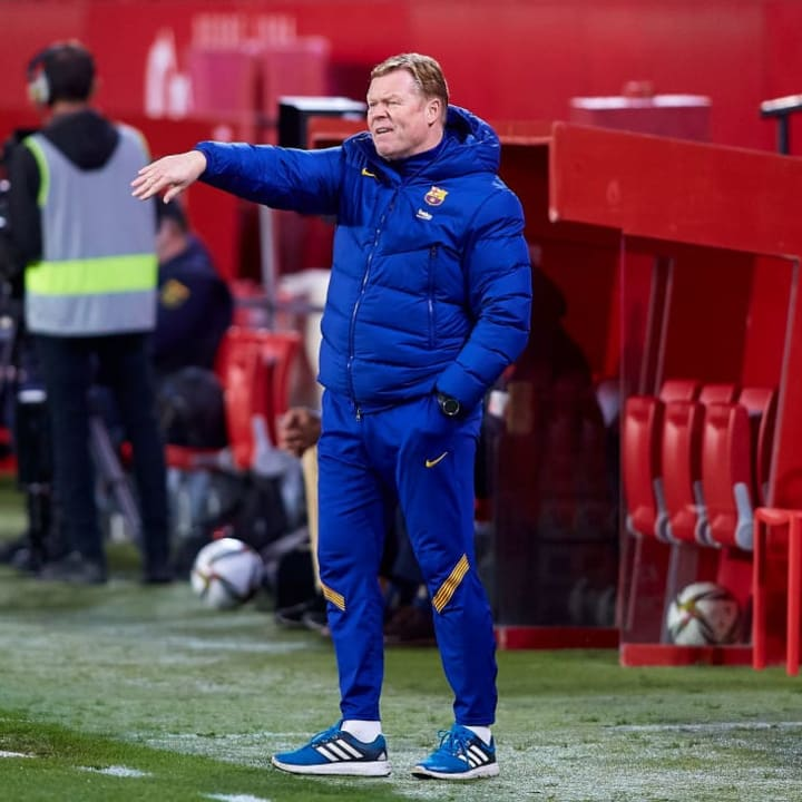 Koeman wants the rest of the squad to step up