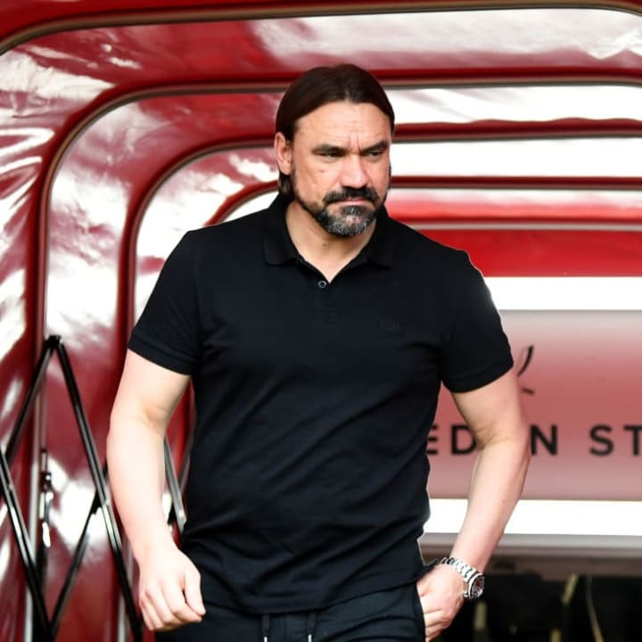 Daniel Farke's Norwich are currently bottom of the Premier League.