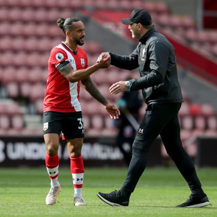Ralph Hasenhuttl will welcome Theo Walcott back to the club on a permanent basis this summer