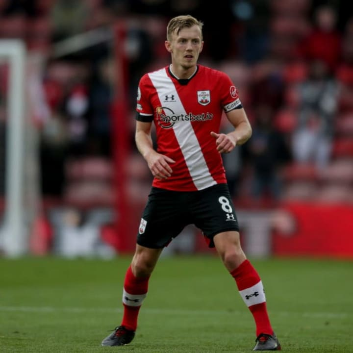 James Ward-Prowse has enjoyed another fine year with the Saints