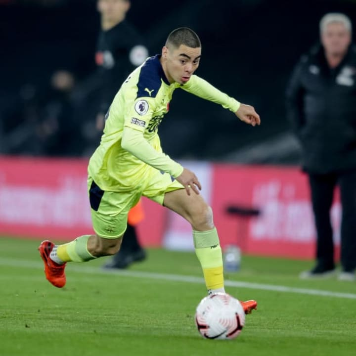 Almiron hasn't lived up to expectations at Newcastle