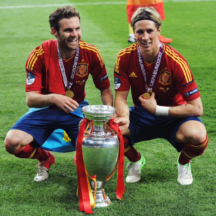 Fernando Torres, Juan Mata