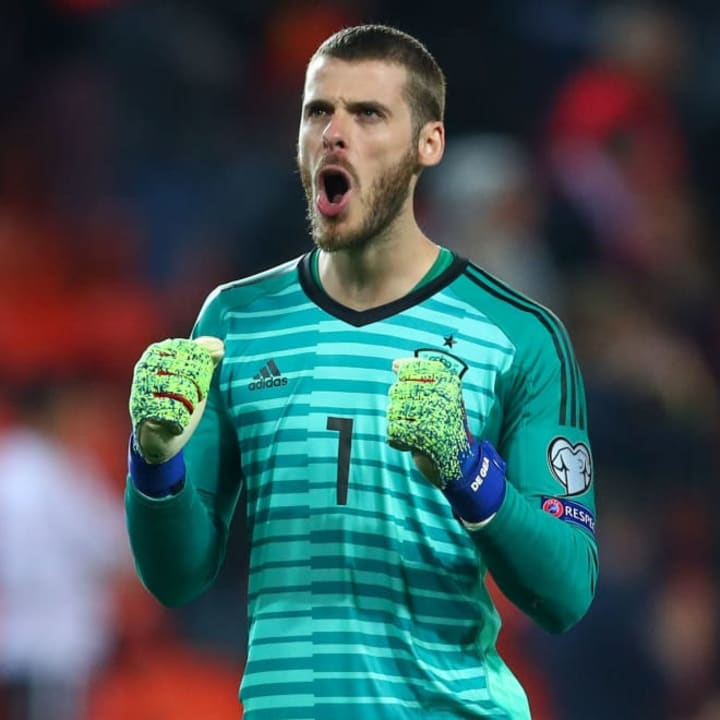 David de Gea will be on the bench for Spain at Euro 2020