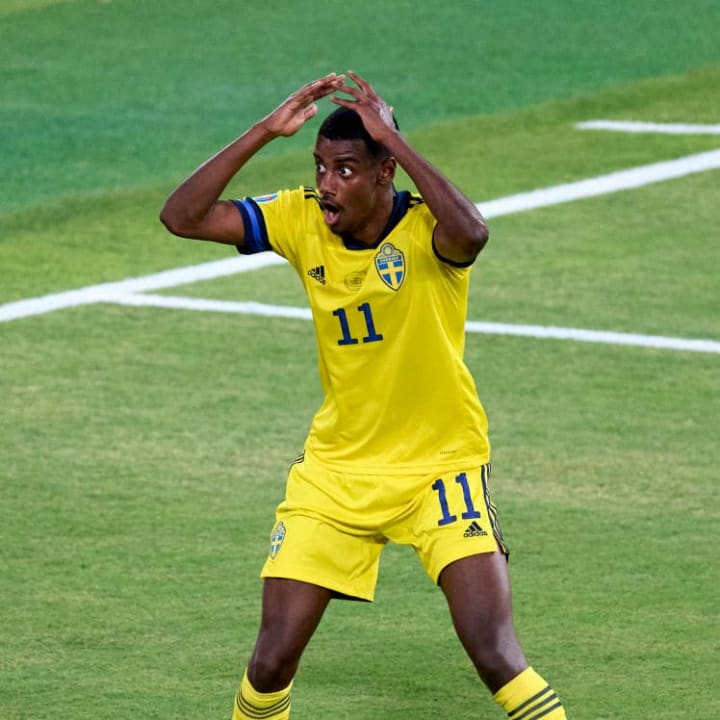 Isak was one of Sweden's best players
