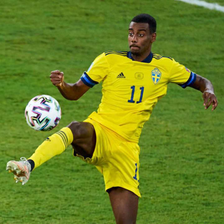 Alexander Isak has been a shining light at Euro 2020 for Sweden