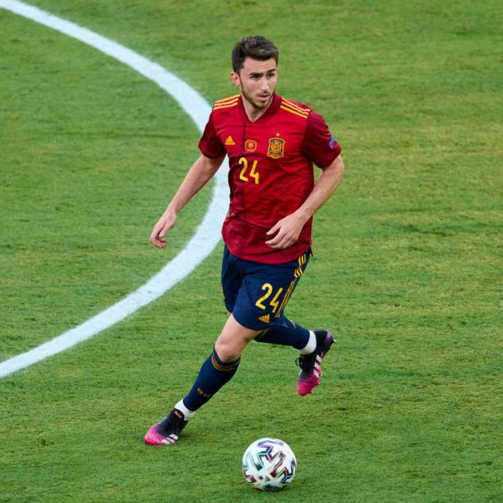 Aymeric Laporte will again start in defence