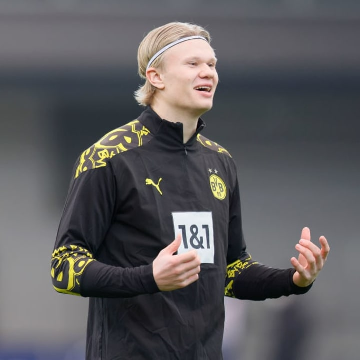 Erling Haaland could be on his way out of Dortmund this summer