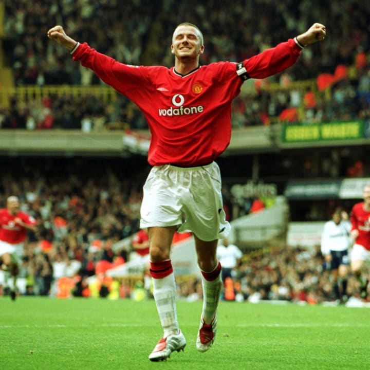 David Beckham regularly chipped in with goals