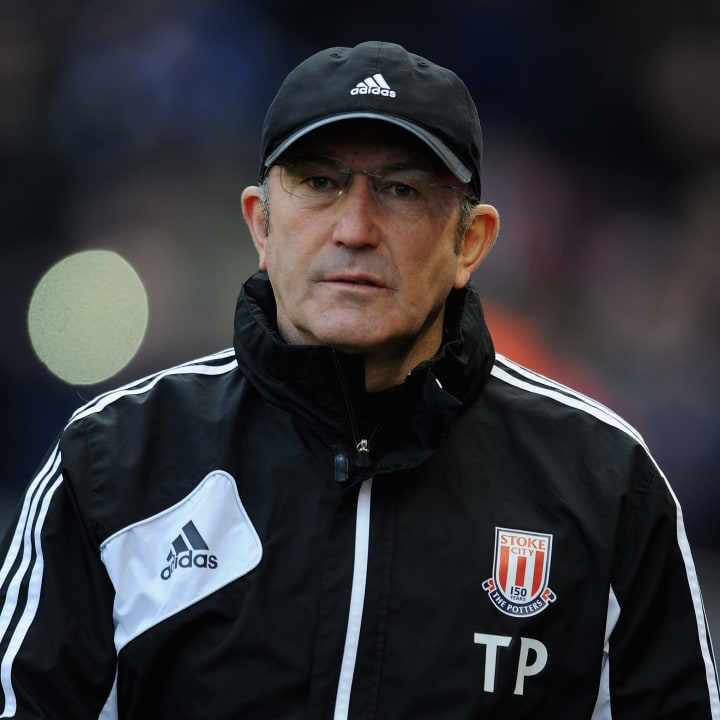 Tony Pulis led Stoke to the Premier League on his return to the club