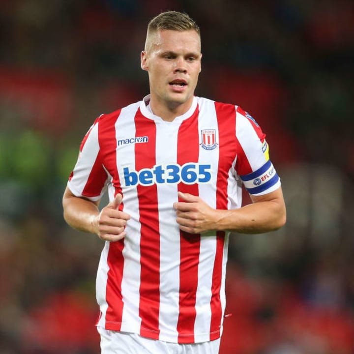Shawcross has played over 450 games for Stoke