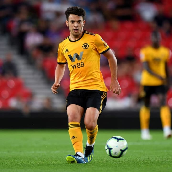 Goncalves was at Wolves from 2017 until 2019