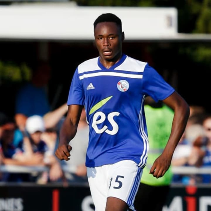 Mohamed Simakan didn't join Strasbourg until he was 17