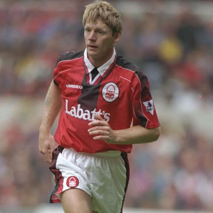Stuart Pearce of Nottingham Forest