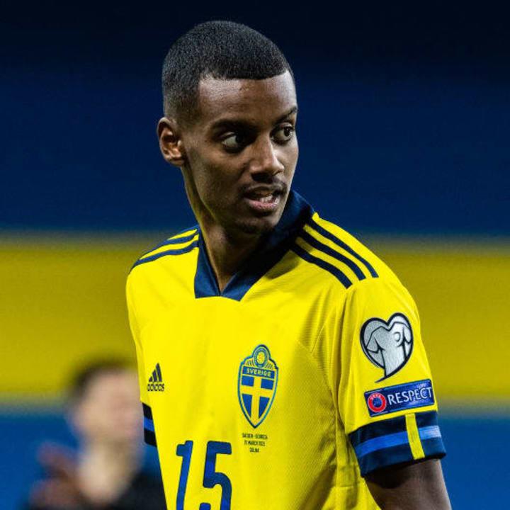 Alexander Isak already has 20 caps for Sweden