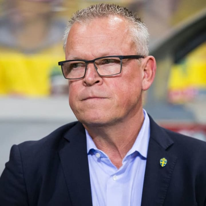 Janne Andersson has been Sweden manager since 2016