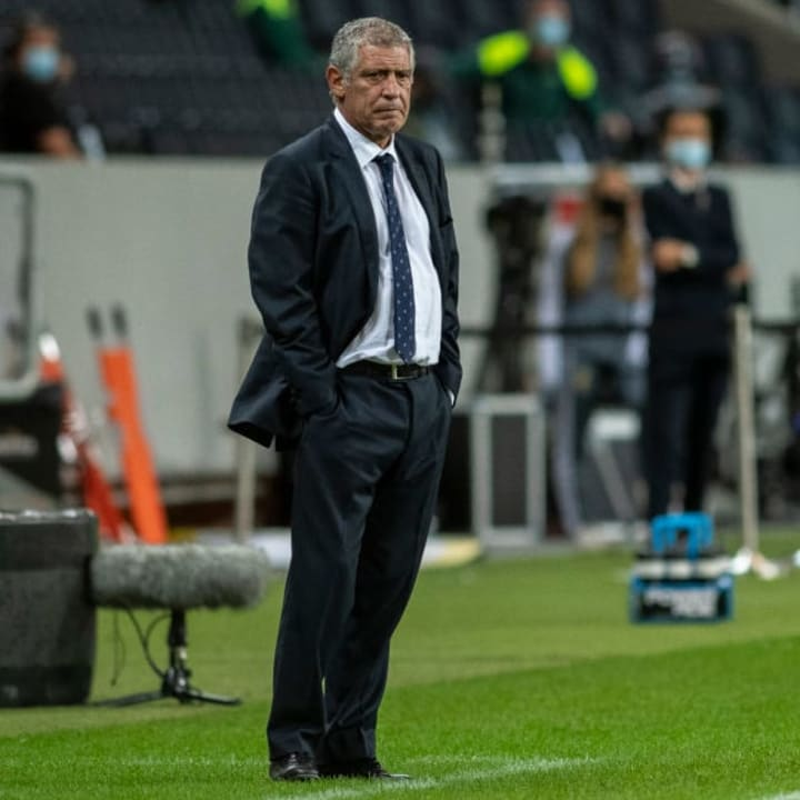 Fernando Santos in his seventh year as Portugal manager