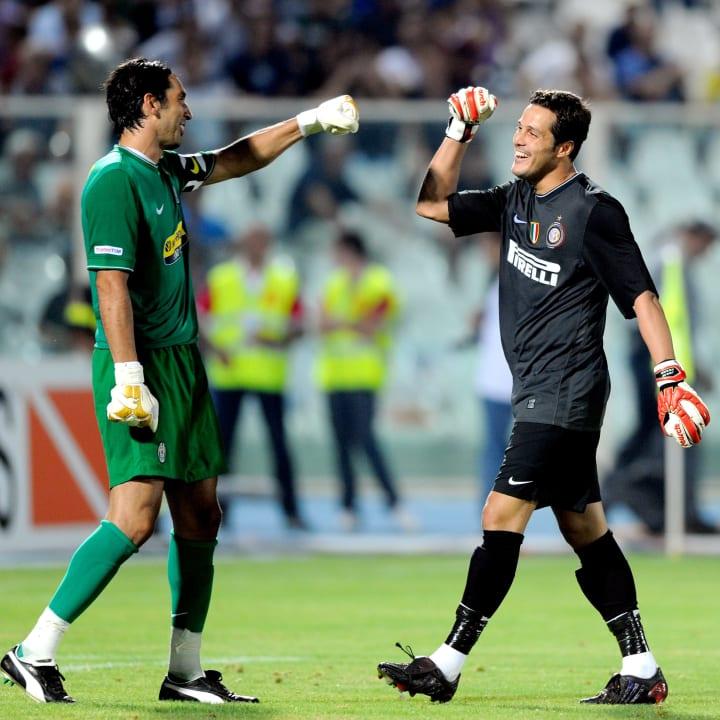 Gianluigi Buffon, Julio Cesar