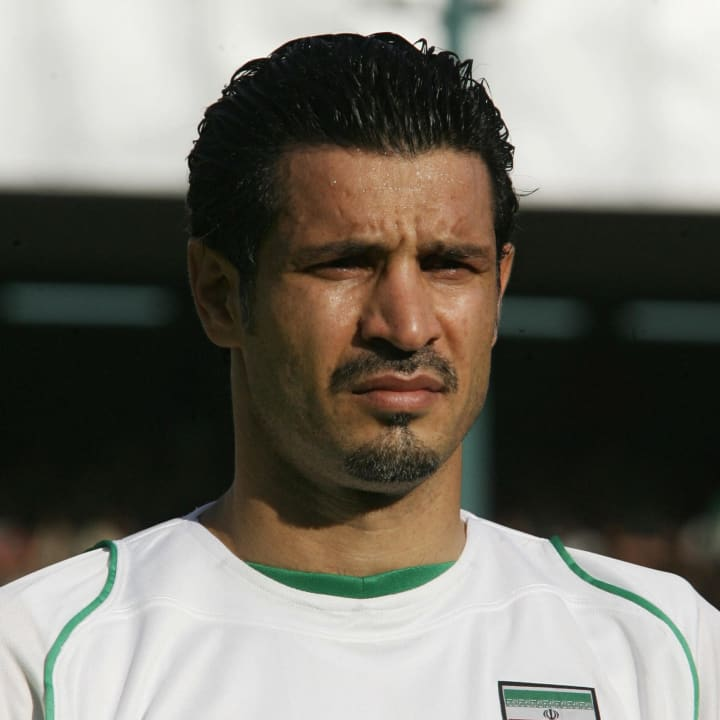 Ali Daei is an Iran legend after scoring 109 international goals