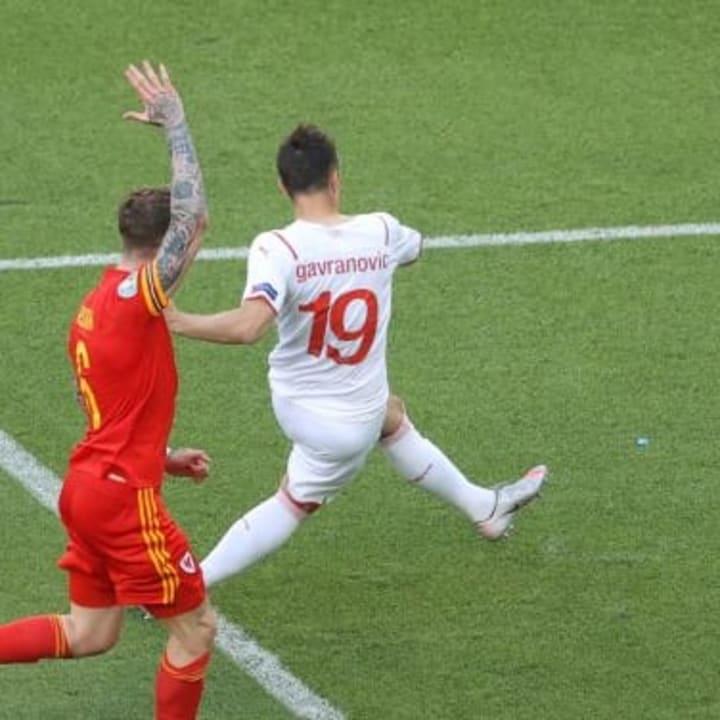 Mario Gavranovic was denied by the offside flag
