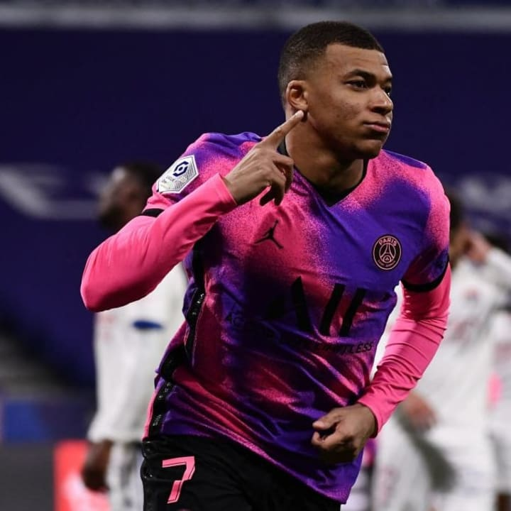 Kylian Mbappe is one of football's rising stars