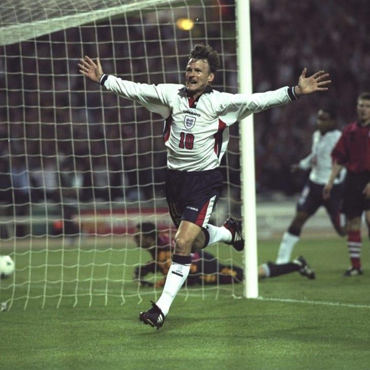 Teddy Sheringham enjoyed a fine England career