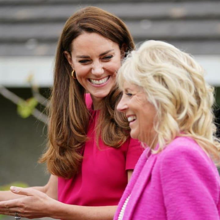 Catherine, Duchess of Cambridge, Jill Biden