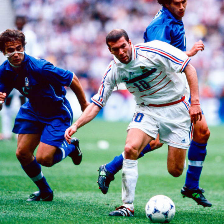 Zinedine Zidane, Demetrio Albertini, Fabio Cannavaro