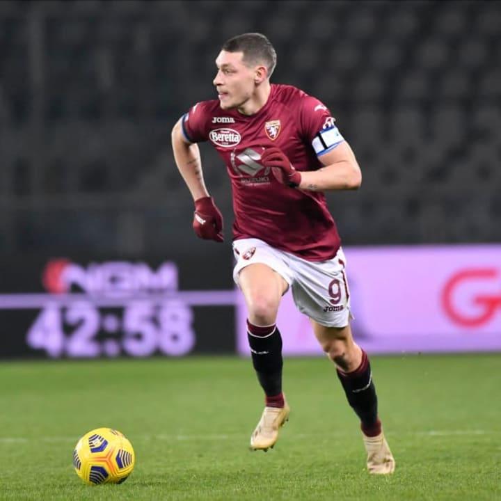 Belotti sejauh ini sudah mengoleksi sembilan gol liga di Serie A musim ini