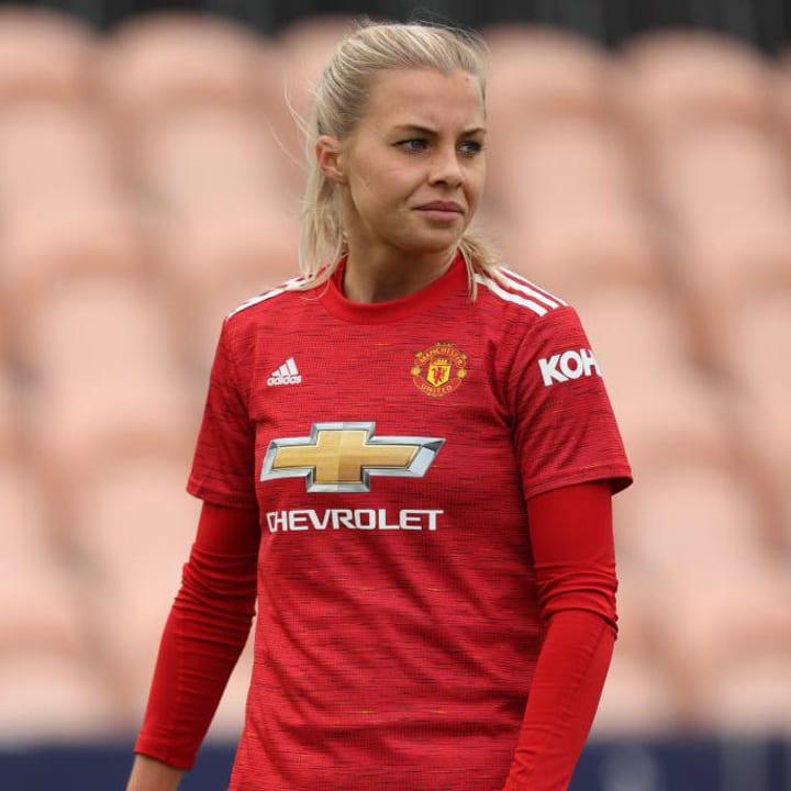 Lotta Okvist has left Man Utd to return to Sweden