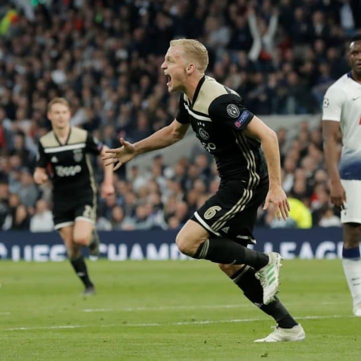 Tottenham Hotspur v Ajax