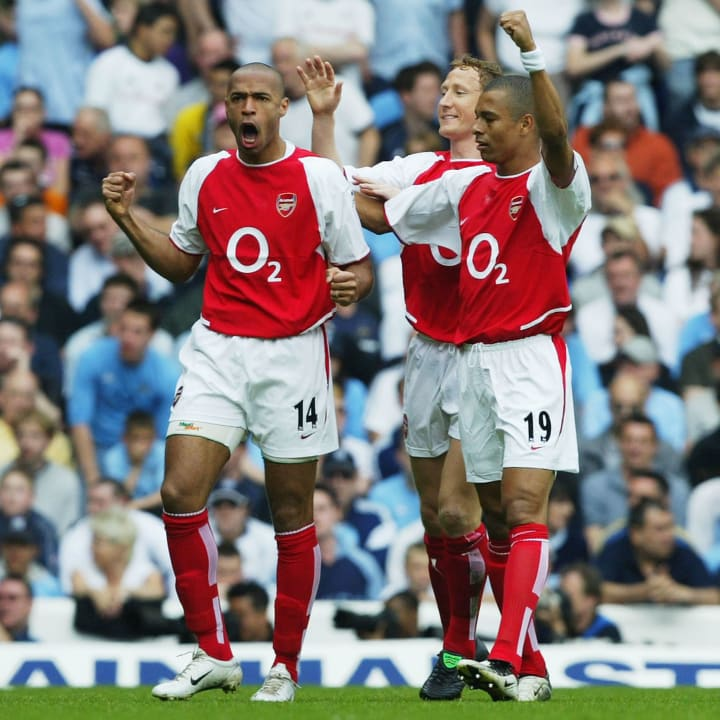 Thierry Henry, Gilberto, Ray Parlour
