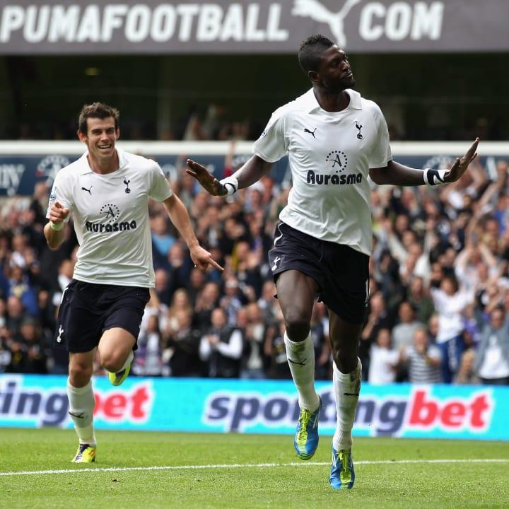 Emmanuel Adebayor, Garath Bale