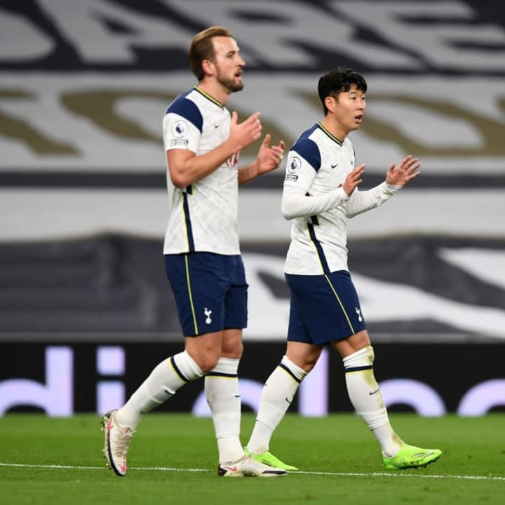Harry Kane is expected to be fit for the clash