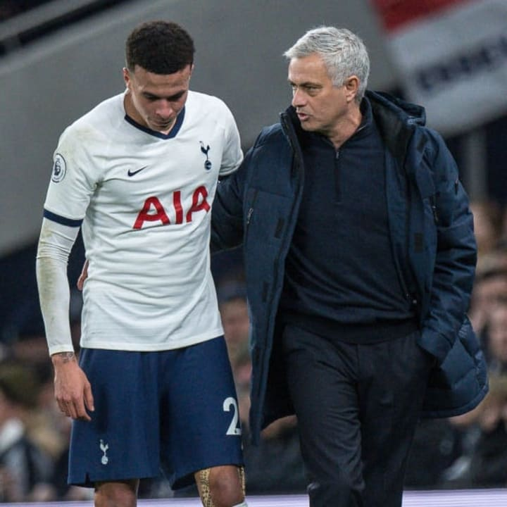 Alli's work ethic in training has been criticised by Jose Mourinho