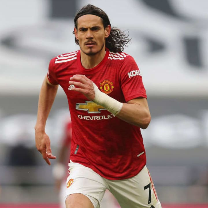Man Utd are also keen on keeping Edinson Cavani for another year