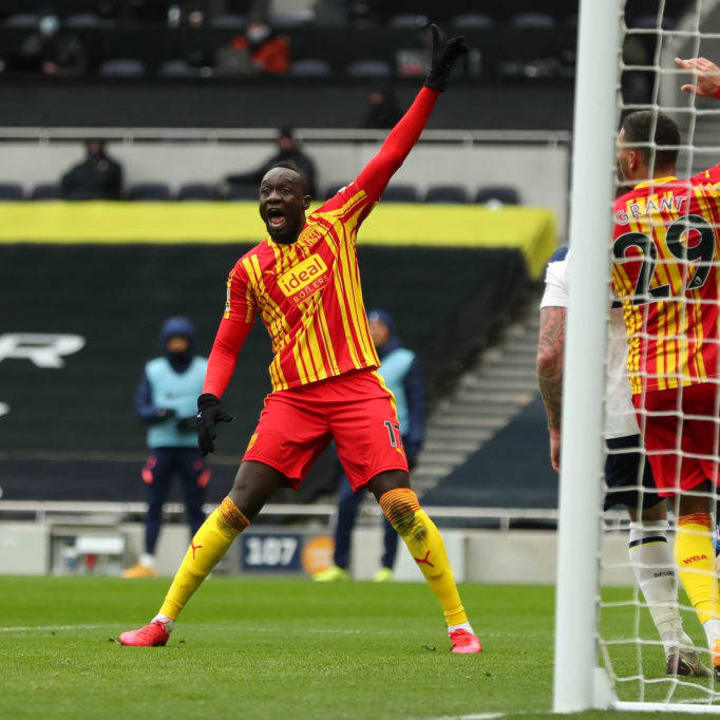 Diagne thought he has scored