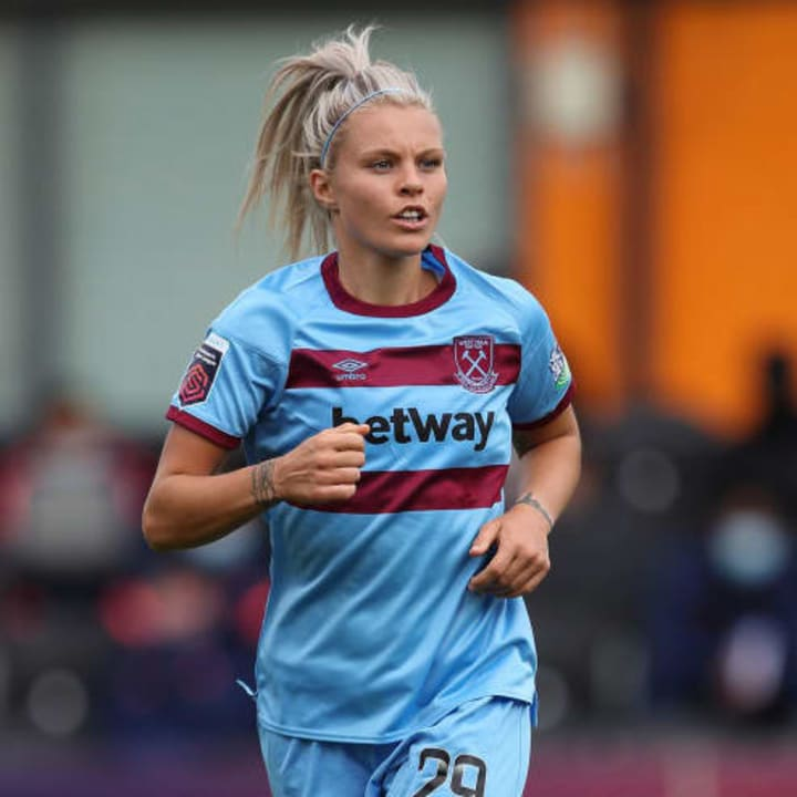 England international Rachel Daly has gone back to the NWSL