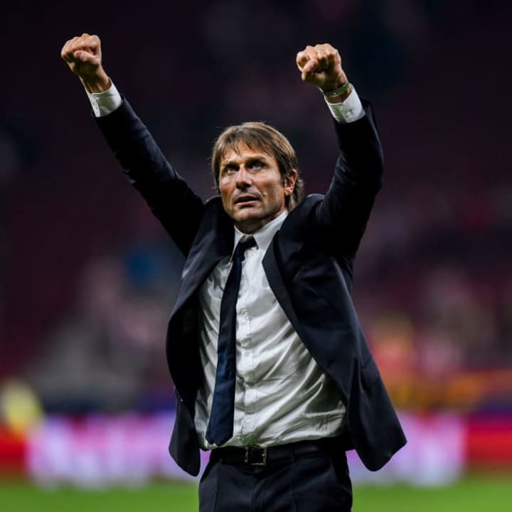 Conte's genius was on show