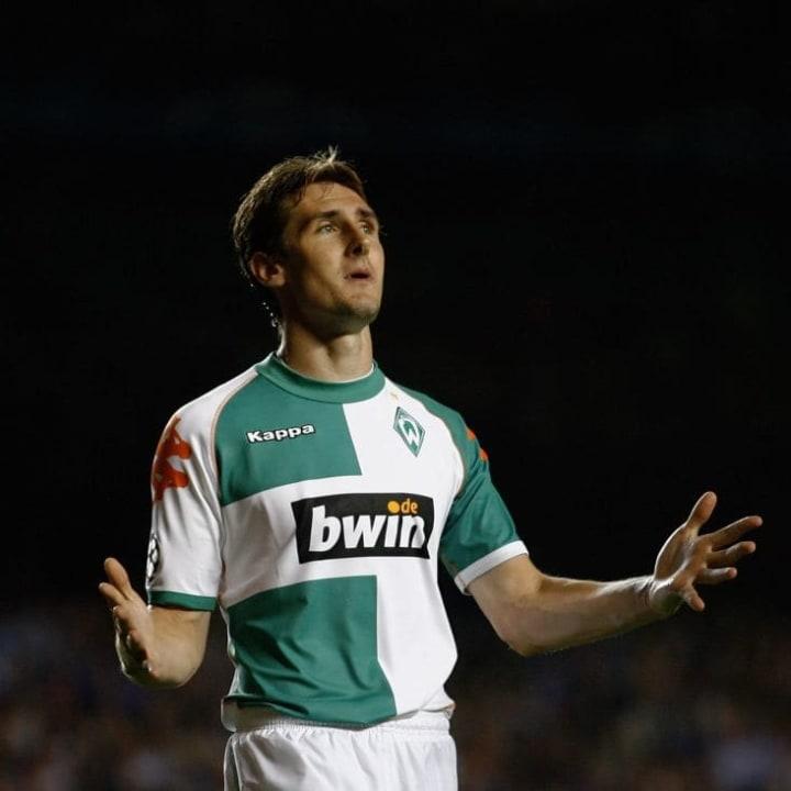 Miroslav Klose bei Werder