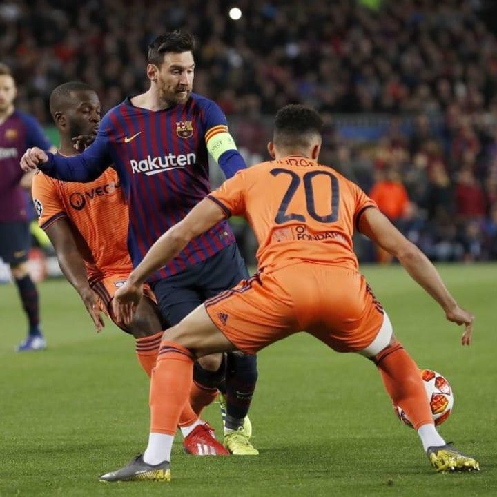 "UEFA Champions League""FC Barcelona v Olympique Lyonnais"""