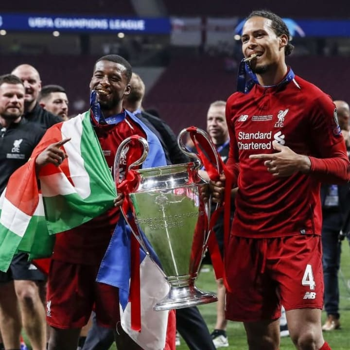 Wijnaldum has won the Champions League & Premier League with Liverpool