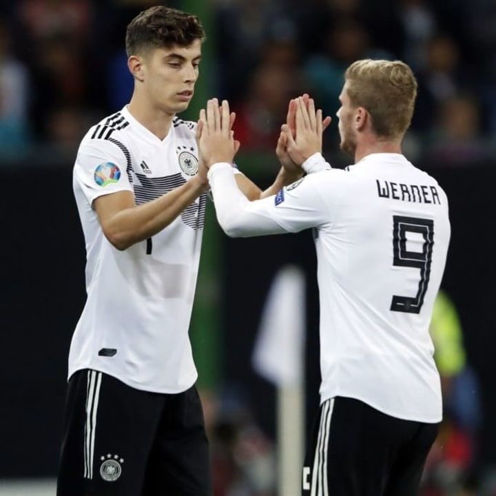 Werner helped convince Chelsea to sign Havertz