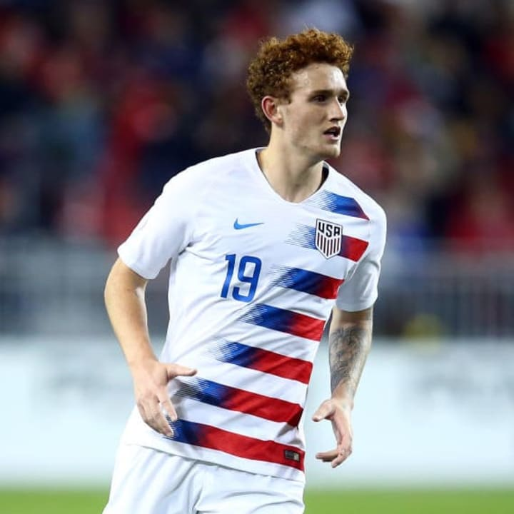 Josh Sargent has a superb strike rate at international level with America