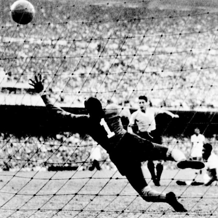 Uruguayan forward Juan Alberto Schiaffin