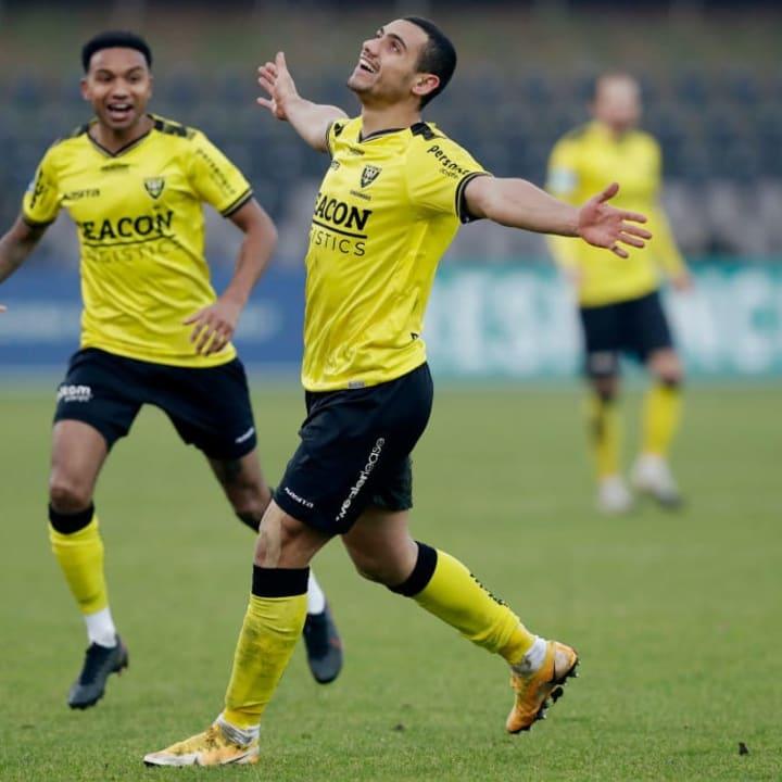 Giakoumakis has torn up the Eredivisie