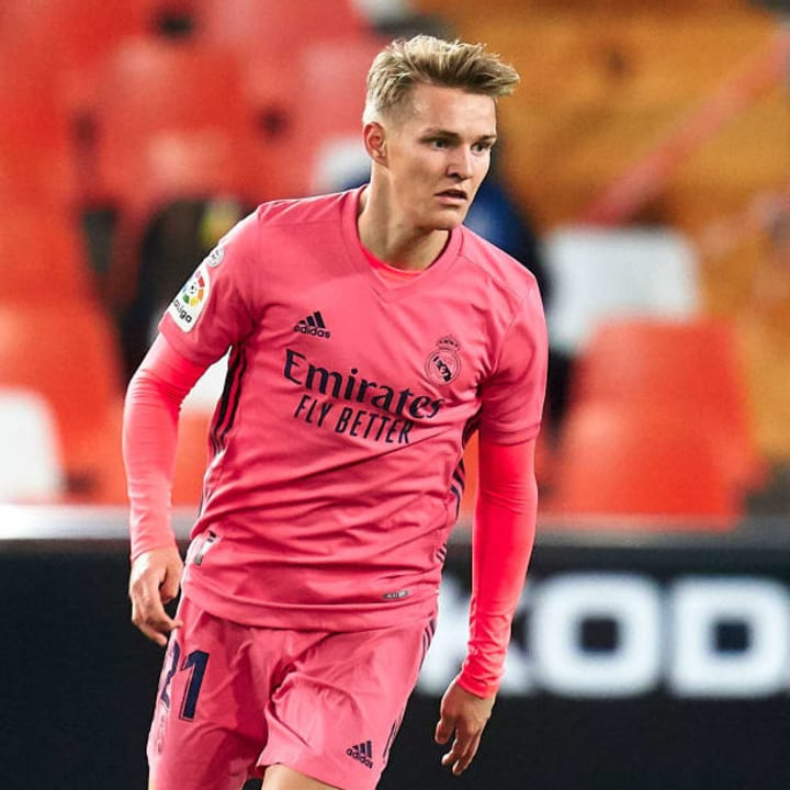 Odegaard has strong potential on FIFA 21 career mode