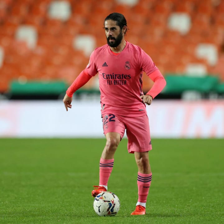 Isco is keen to seek a route out of the club in January